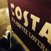 Photo taken at Costa Coffee by Jenn C. on 1/12/2014