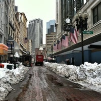 Photo taken at Downtown Crossing by Sousou B. on 2/11/2013