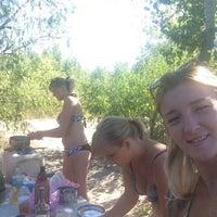 Photo taken at Пляж by Елена Т. on 8/9/2015