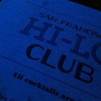Photo taken at Hi-Lo Club by Dava G. on 3/30/2013