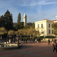 Photo taken at Sproul Plaza by Luis G. on 3/17/2017