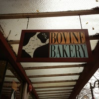 Photo taken at Bovine Bakery by Luis G. on 1/9/2013