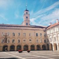 Photo taken at Vilniaus universiteto Filologijos fakultetas by Marina S. on 7/18/2014