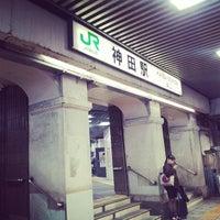 Photo taken at Kanda Station by hideki u. on 10/5/2013