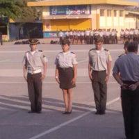 "Photo taken at Colegio Militar ""Tnte. Hugo Ortiz G."" by Blnk S. on 3/6/2014"