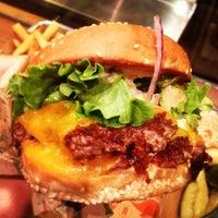 Photo taken at Super Duper Burger by Gu on 2/20/2013