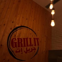 Photo taken at Grill It by Faris O. on 11/11/2017