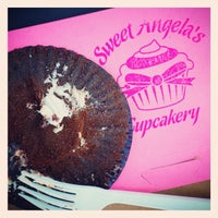 Photo taken at Sweet Angela's Cupcakery by robin g. on 6/29/2014