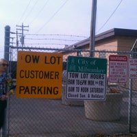 Photo taken at Milwaukee Area Tow Lot by Jackie B. on 10/1/2012