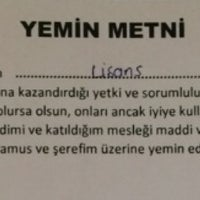 7/25/2014에 Elif S.님이 Öğrenci İşleri Daire Başkanlığı에서 찍은 사진
