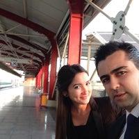 Photo taken at Hürriyet raylı sistem ist. by Canan Y. on 12/2/2013