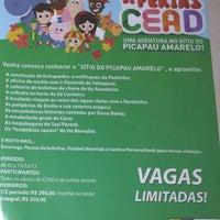 Photo taken at Centro Educacional Agnus Dei - CEAD by Roberta C. on 11/29/2013