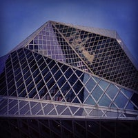 Photo taken at Seattle Central Library by Dan R. on 3/23/2013