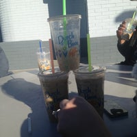 Photo taken at Dutch Bros. Coffee by Tianna H. on 12/31/2013