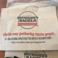 Photo taken at Bruegger's Bagels by Glenda U. on 11/7/2017