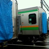 Photo taken at 総合車両製作所 新津事業所 by Mesotaro D. on 11/17/2012