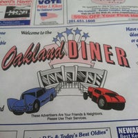 Photo taken at The Oakland Diner by Nikki M. on 4/18/2013