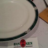 Photo taken at Hangen Szechuan Restaurant by Meow on 8/29/2014