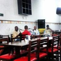 Photo taken at Estação Paulista Bar Restaurante by Mariana O. on 2/15/2014