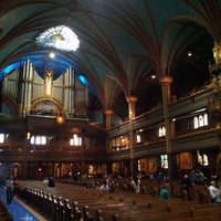 Photo taken at Notre-Dame Basilica of Montréal by Jason S. on 4/28/2013