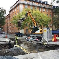 Photo taken at Fridhemsplan by Brynja S. on 10/16/2017