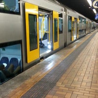 Photo taken at Wynyard Station (Main Concourse) by Wan A. on 6/1/2014