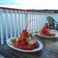 Photo taken at Lobster Kettle by Virginia R. on 8/10/2014
