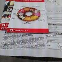 Photo taken at CIMB Bank by Syazwan R. on 10/24/2014