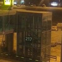 Photo taken at Gate 217 by Yuri K. on 10/10/2012