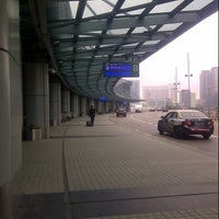 Photo taken at Macau International Airport (MFM) by Aden Z. on 4/20/2013