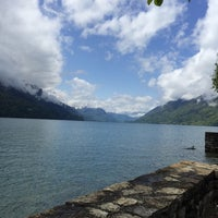 Photo taken at Brienz–Rothorn Bahn by Ali A. on 5/11/2014