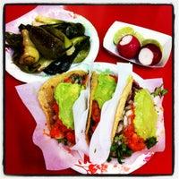 Photo taken at Tacos El Gordo De Tijuana by oneTmat on 11/28/2012