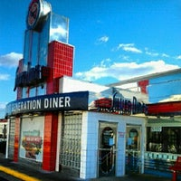 Photo taken at Silver Diner by James L. on 12/22/2012