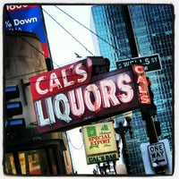 Photo taken at Cal's Liquors by James D. on 10/5/2012
