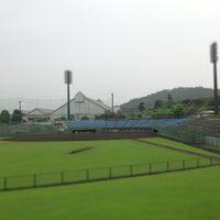 Photo taken at いせはらサンシャインスタジアム by c4macaron on 7/31/2013