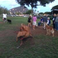 Photo taken at Waialae Ave. Dog Run by Dek O. on 11/29/2012