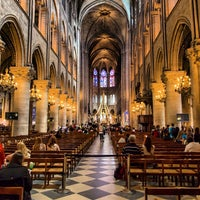 Photo taken at Cathedral of Notre Dame de Paris by Oleg L. on 7/15/2013