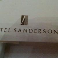 Photo taken at Hotel Sanderson by Naoki on 4/28/2016