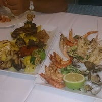 Photo taken at Restaurante Las Columnas by Javi R. on 8/30/2014