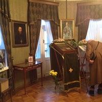 Снимок сделан в Мемориальный музей-квартира Святого Праведного Иоанна Кронштадтского пользователем Daniil S. 1/2/2014