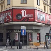Photo taken at Teatro Muñoz Seca by Nuria M. on 10/11/2014