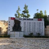 Photo taken at Salt Türk Şehitliği by Dora Y. on 11/28/2017