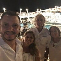 Photo taken at Oceano Atlântico by Aline S. on 1/17/2018