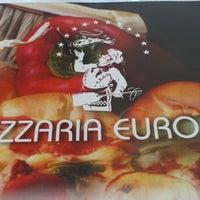Photo taken at Pizzaria Europa by Daniel R. on 7/14/2013
