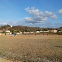 Photo taken at campo de futebol em matureia by Eginoaldo O. on 11/23/2013
