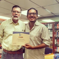 Photo taken at Biblioteca Simón Bolívar by Dionisio G. on 10/29/2016