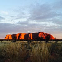 Photo taken at Uluru by hmn t. on 3/10/2017