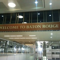 Photo taken at Baton Rouge Metropolitan Airport (BTR) by yiktk on 11/4/2012