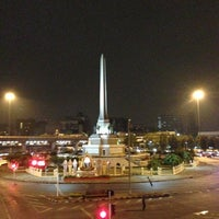 Photo taken at Victory Monument by Suttha N. on 3/3/2013