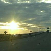 Photo taken at Neuse River Bridge by Lyn B. on 12/5/2013
